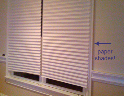paper shades for windows