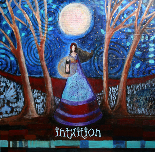 Intuition is like a lantern lighting your way.