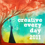badge for creative every day